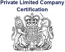Private Limited Company Certification